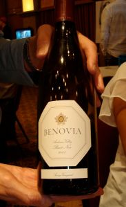 Benovia Pinot Savoy Vineyards